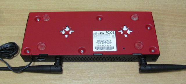 Mikrotik RB2011UAS-2HnD-IN - вид снизу