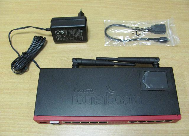 Комлпект поставки Mikrotik RB2011UAS-2HnD-IN