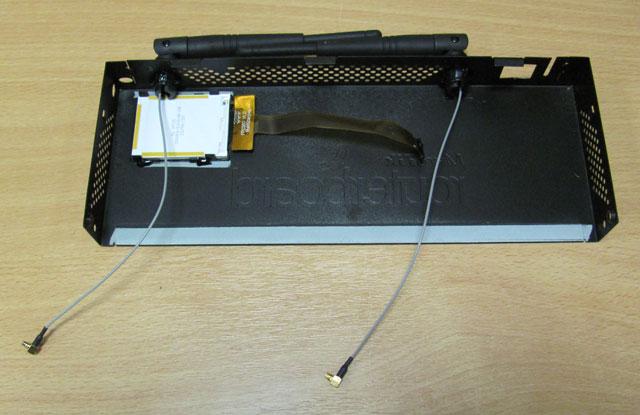 Верхняя крышка Mikrotik RB2011UAS-2HnD-IN