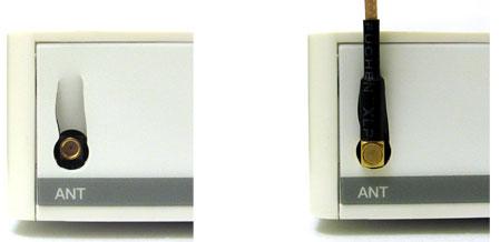 Подключение к MikroTik RB750 U-образного разъема MMCX