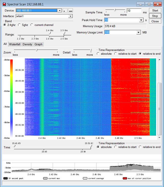 сканер частот Wifi - фото 8
