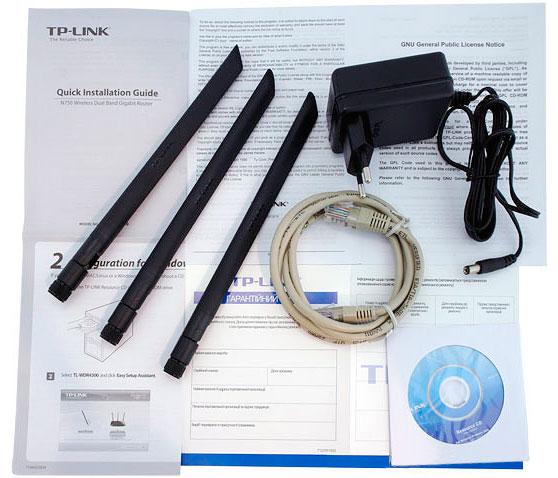 Комплектация TP-Link TL-WDR4300