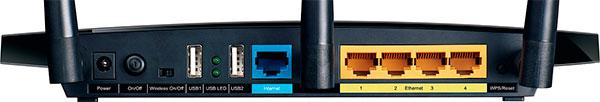 Порты TP-Link TL-WDR4300