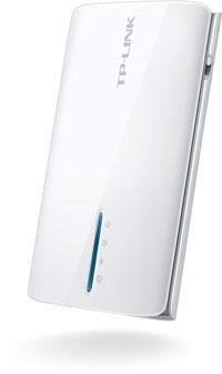 Компактный 3G Wi-Fi роутер TP-Link TL-MR3040 с встроенным аккумулятором
