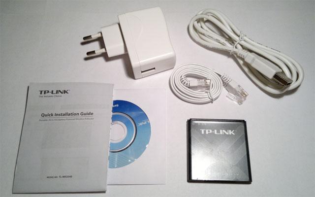 Комплектация TP-Link TL-MR3040