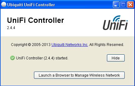Настройка UniFi контроллера