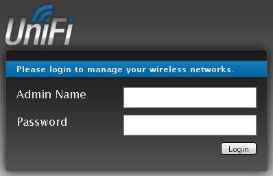 Аутентификация в UniFi контроллере