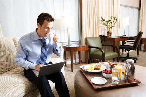 Wi-Fi интернет в номере гостиницы