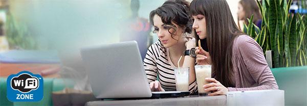 Wi-Fi в кафе