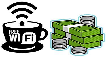 Заработок на Wi-Fi в кафе